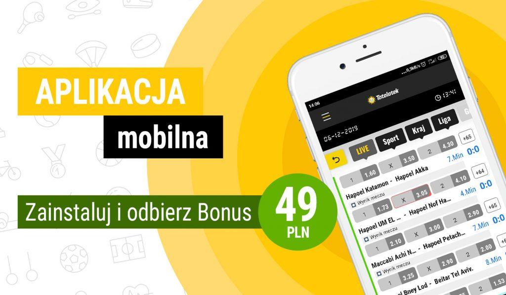 Aplikacja mobilna Totolotek